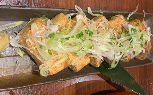 揚げ豆腐 -渋谷イカセンター-